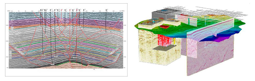interpretation seismic data